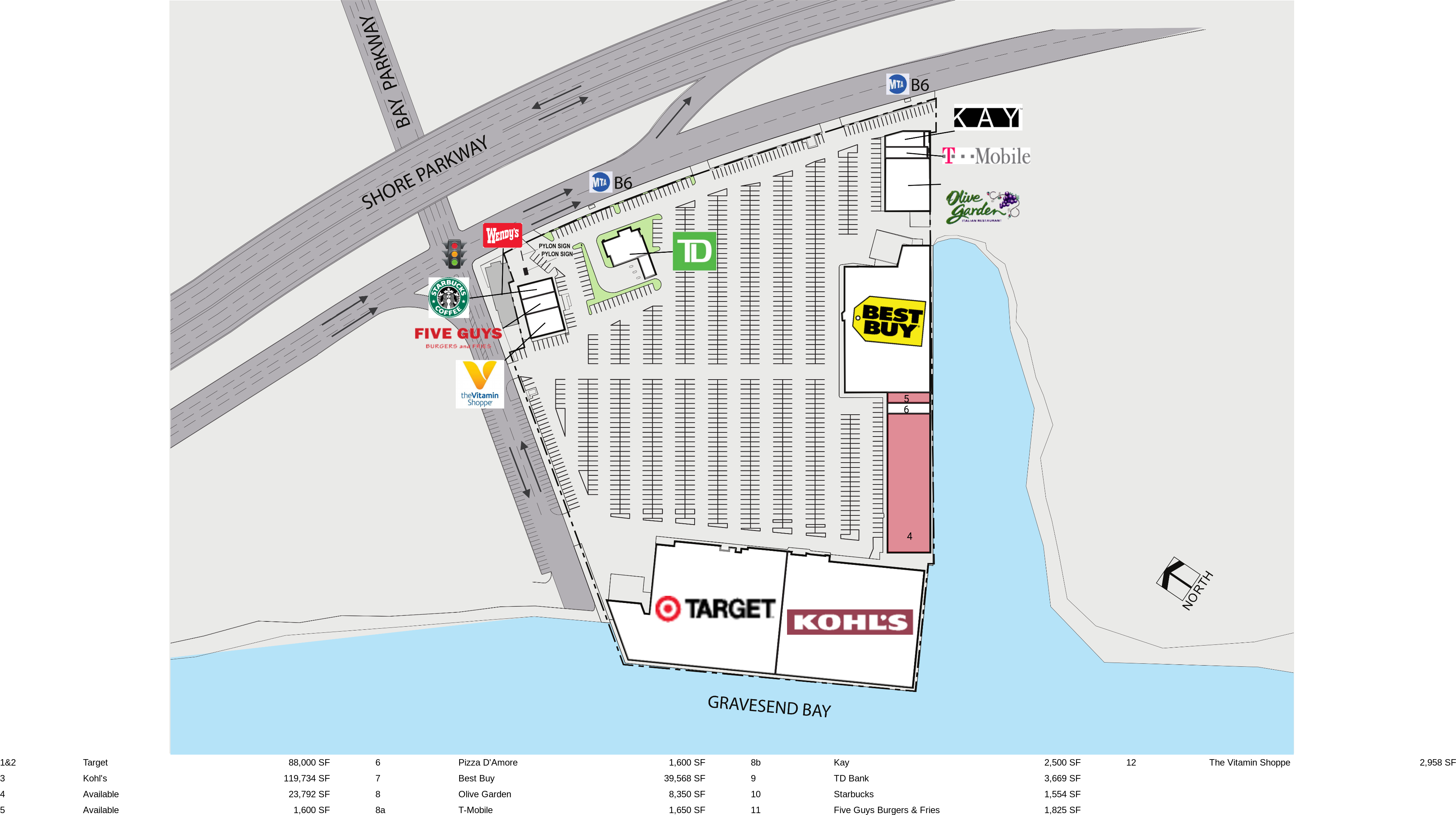 Brooklyn NY: Ceasar's Bay - Retail Space For Lease - Surrey Equities