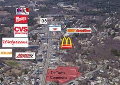 Stoughton Town Center: Aerial